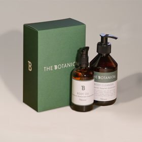 The Botanical - Body Set | Body Oil & Body Cleanser in a Set